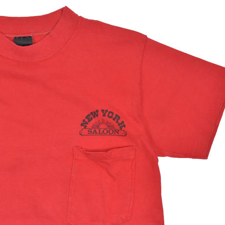 "USED ""NEW YORK SALOON"" T-shirt"