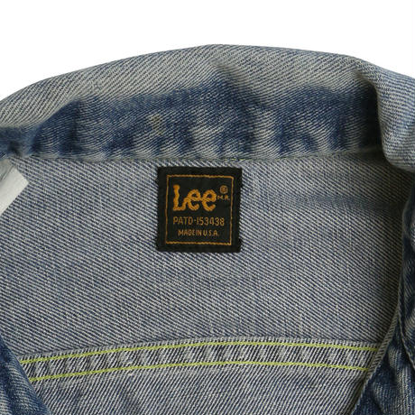 "LATE 80'S ""TEREX"" LEE DENIM JACKET"