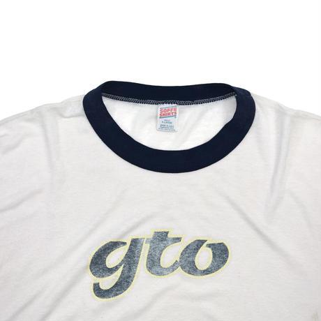 "USED ""80-90'S GTO"" RINGER T-shirt"