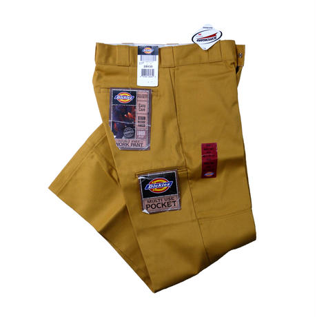 DICKIES DOUBLE KNEE PANT / MUSTARD