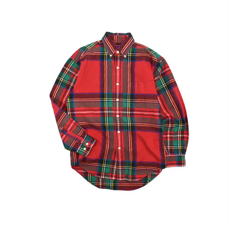 "USED ""GAP""PLAID B.D. SHIRT"