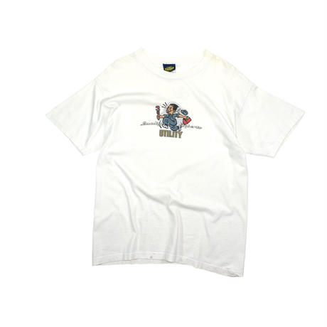 "USED 90'S ""UTILITY QUALITY CLOTHING"" T-shirt"
