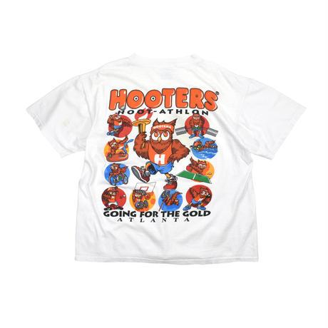 "USED ""HOOTERS HOOT-ATHLON"" T-shirt"