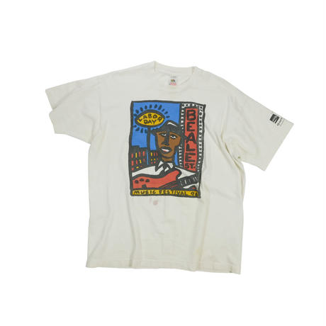 "USED 1996 ""LABOR DAY BEALE st. MUSIC FESTIVAL"" T-shirts"