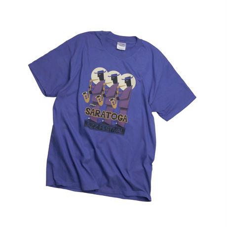 """USED """"1998 SARATOGA JAZZ FESTIVAL"""" T-shirt"""
