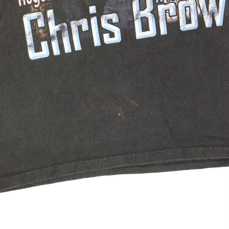 CHRIS BROWN TOUR USED Tshirts