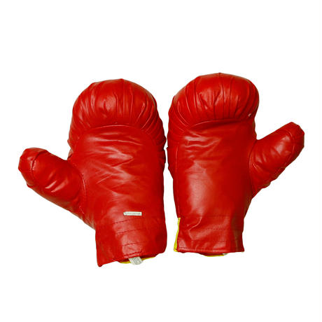 """ACTION SPORT """"POW"""" TOY BOXING GLOVES"""