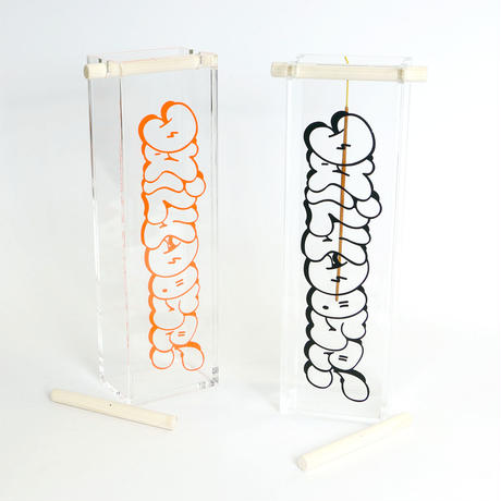 "DDQS ""BUBBLE LOGO ACRYLIC"" INCENSE BURNER pt.2"