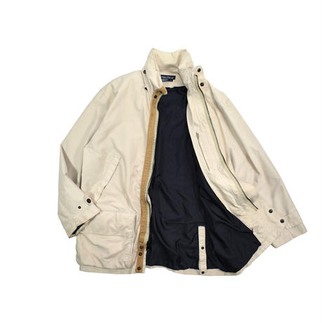 "USED 90'S ""NAUTICA"" NYLON HALF COAT"