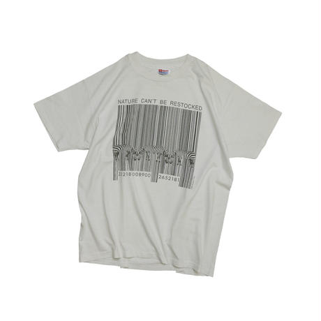 """USED """"NATURE CAN'T BE RESTOCKED"""" T-shirt"""