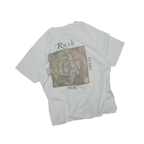 """RUSH """"TEST FOR ECHO"""" USED T-shirt"""