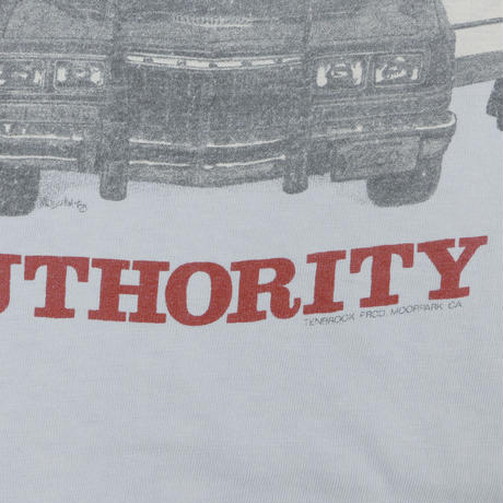 "USED ""NEVER QUESTION AUTHORITY"" Tshirts"