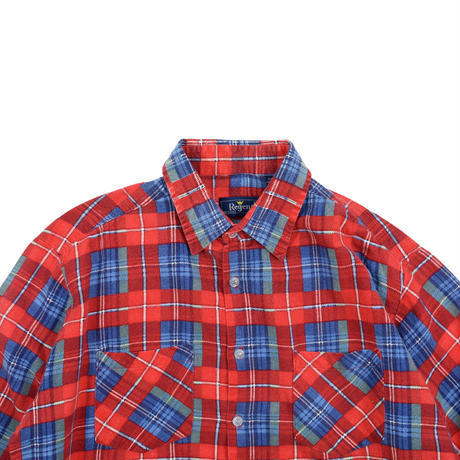 "USED ""REGENT"" PLAID SHIRT"