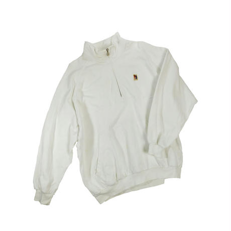 "USED ""NIKE TENNIS"" HALF ZIP SWEAT"