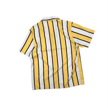 USED UNKNOWN OPEN COLLAR STRIPE SHIRT