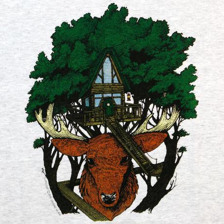 """NOROLL """"EARTH LIGHT"""" L/S T-shirt  / ART WORK by """"DAISUKE MURAI"""""""