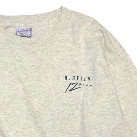 "USED ""R.KELLY 12PLAY"" L/S Tshirt"