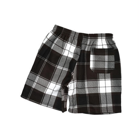 DEADSTOCK UNKNOWN PLAID SWEAT SHORTS