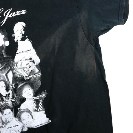 "USED ""WOMAN OF JAZZ"" T-shirt"