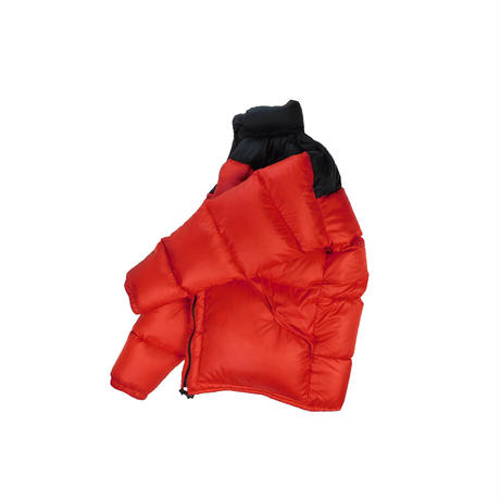 "USED ""FARWEST"" NYLON RIP STOP DOWN JACKET"