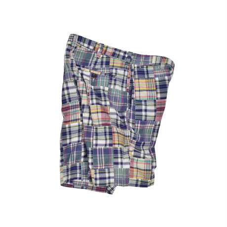 "USED ""J.CREW"" PLAID COTTON SHORT"