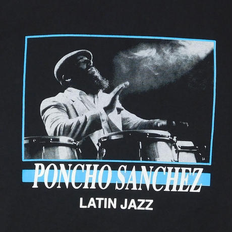 "USED ""PONCHO SANCHEZ"" T-shirt"