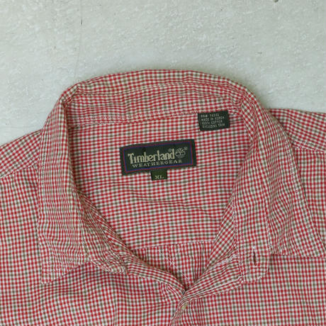 "USED ""TIMBER LAND"" S/S SHIRT"