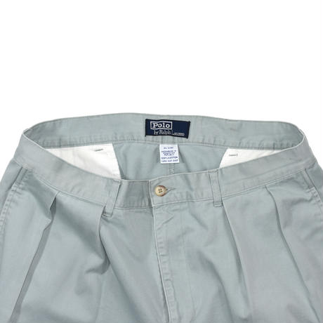 "USED ""POLO RALPH LAUREN"" 2-TUCK SHORTS"