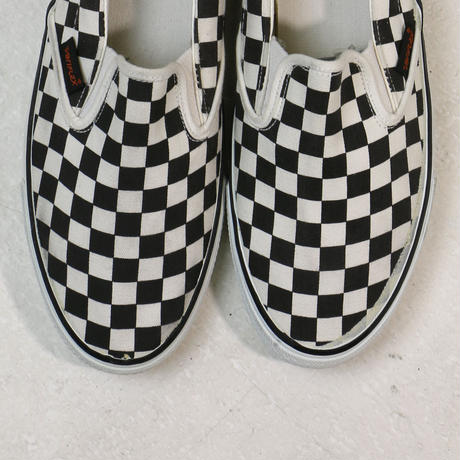 VARIFLEX SLIP-ON / BLACK & WHITE CHECKER