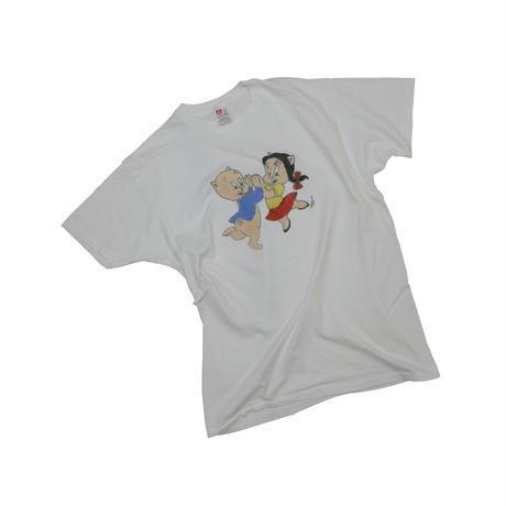 """""""PORKY PIG AND PETUNIA PIG"""" BOOTLEG T-shirt"""