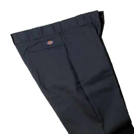 90'S DICKIES 874 FLAT FRONT PANT  / CHARCOAL GRAY