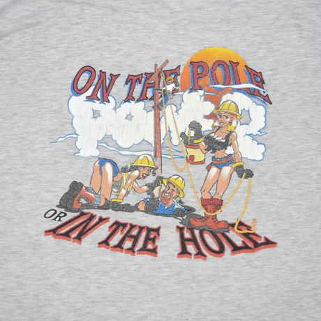"""USED """"ON THE POLE OR IN THE HOLE"""" T-shirt"""