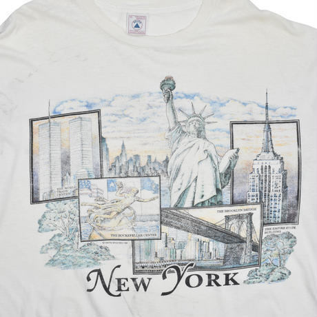 "USED ""NEW YORK"" SOUVENIR T-shirt"
