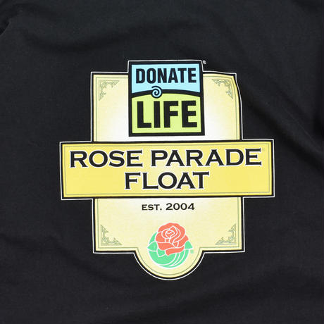 """USED """"DONATE LIFE ROSE PARADE FLOAT"""" L/S T-shirt"""