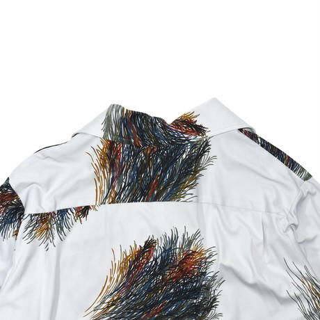 """USED 70'S """"TOUCH OF GLASS"""" OPEN COLLAR SHIRT"""