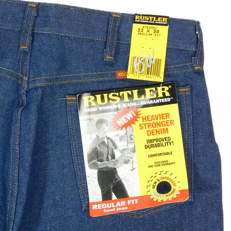 """RUSTLER"" REGULAR FIT BOOT JEAN"