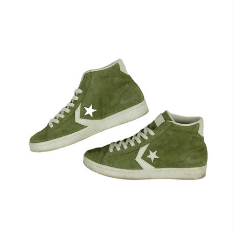 "USED ""CONVERSE / PRO LEATHER MID SUEDE"""
