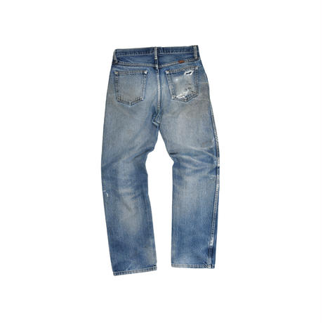 "USED ""RUSTLER"" DAMAGE DENIM"