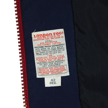 "USED ""LONDON FOG"" JACKET"
