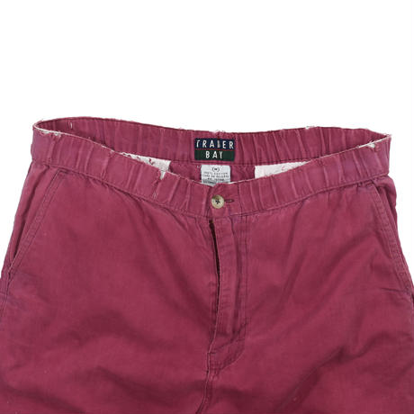 """USED 90'S """"TRADER BAY"""" EASY SHORT PANTS"""