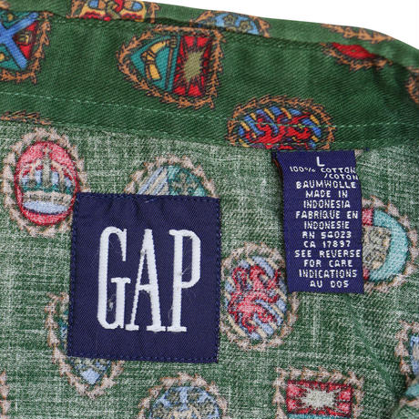 "USED ""OLD GAP"" BD SHIRT"