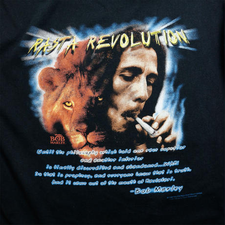 "USED ""RASTA REVOLUTION"" T-shirt"