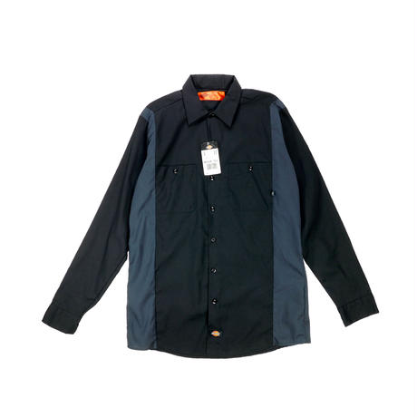 """DICKIES"" TWO TONE L/S WORK SHIRT"
