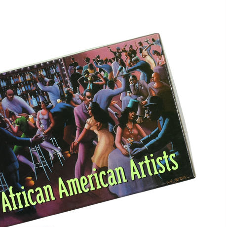 """1995 """"THE ART INSTITUTE OF CHICAGO"""" AFRICAN AMERICAN ARTISTS 20 NOTECARDS AND EMVELOPES"""
