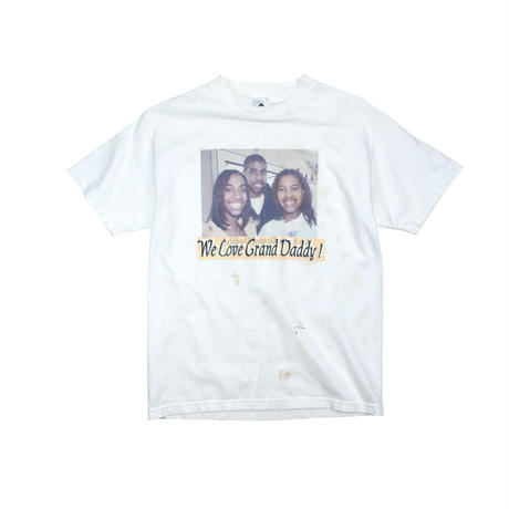 """USED """"WE LOVE GRAND DADDY!"""" T-shirt"""