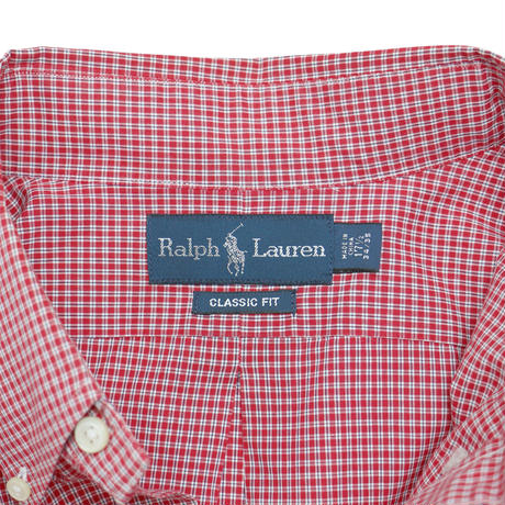 "USED ""POLO RALPH LAUREN"" CHECK SHIRT"