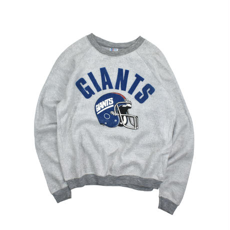 "USED 80-90'S ""GIANTS"" INSIDE OUT SWEAT"