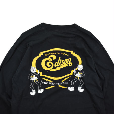 """USED 80'S """"SOUTHERN CALIFORNIA EDISON"""" L/S T-shirt"""
