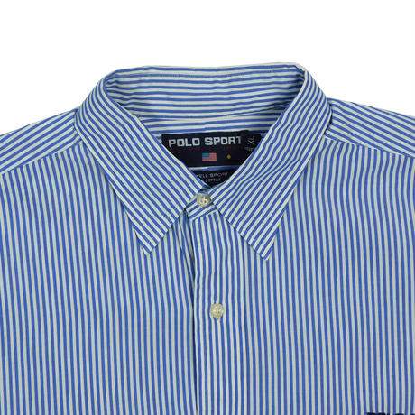 "USED ""POLO SPORTS"" STRIPE SHIRT"
