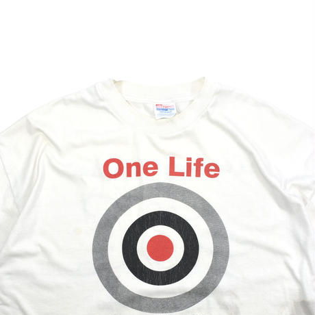 """USED """"ONE LIFE TOO MANY TO LOSE"""" T-shirt"""